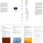 """Conferencia en el seminario """"Luz, Agua, Tierra en la arquitectura""""."""