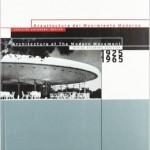 Arquitectura del Movimiento Moderno 1925-1965.