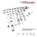 """Maquetas de La Ciudad de la Justicia en el catálogo de la exposición """"Una ciudad llamada España"""""""